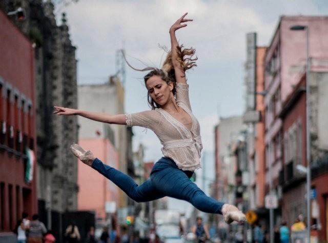 墨西哥的芭蕾舞演员街上表演者---2_图1-9