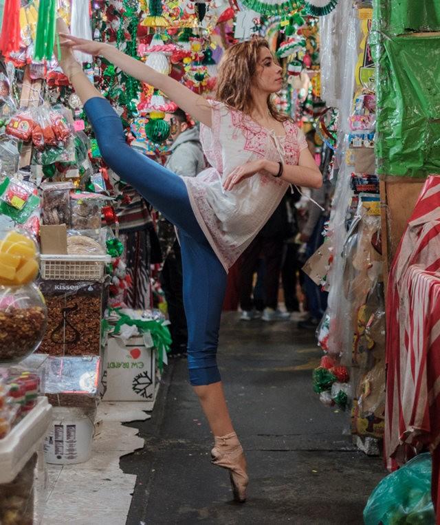 墨西哥的芭蕾舞演员街上表演者---2_图1-12
