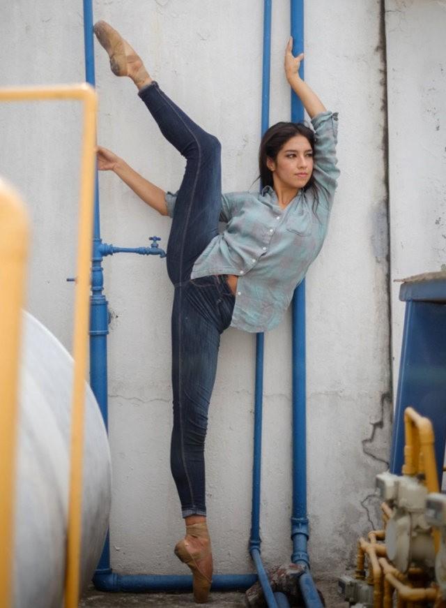 墨西哥的芭蕾舞演员街上表演者---2_图1-14