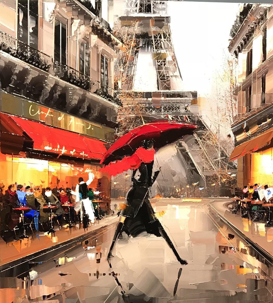 Kal Gajoum 的油画_图1-2