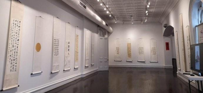 """高娓娓:美中文化周之""""守望经典——龙宁书法作品展""""在美国纽约拉开帷幕 ... ... ... ..._图1-8"""