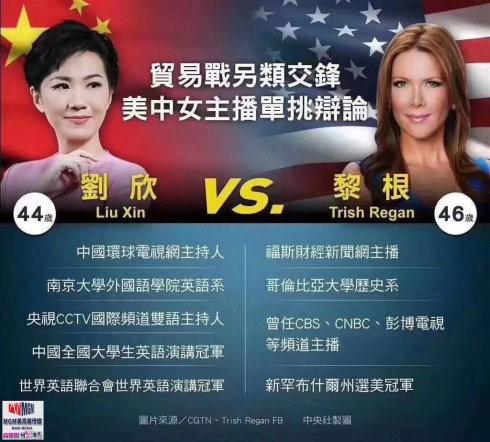 """高娓娓:中美新闻女主播""""越洋辩论""""背后隐含了什么?_图1-2"""