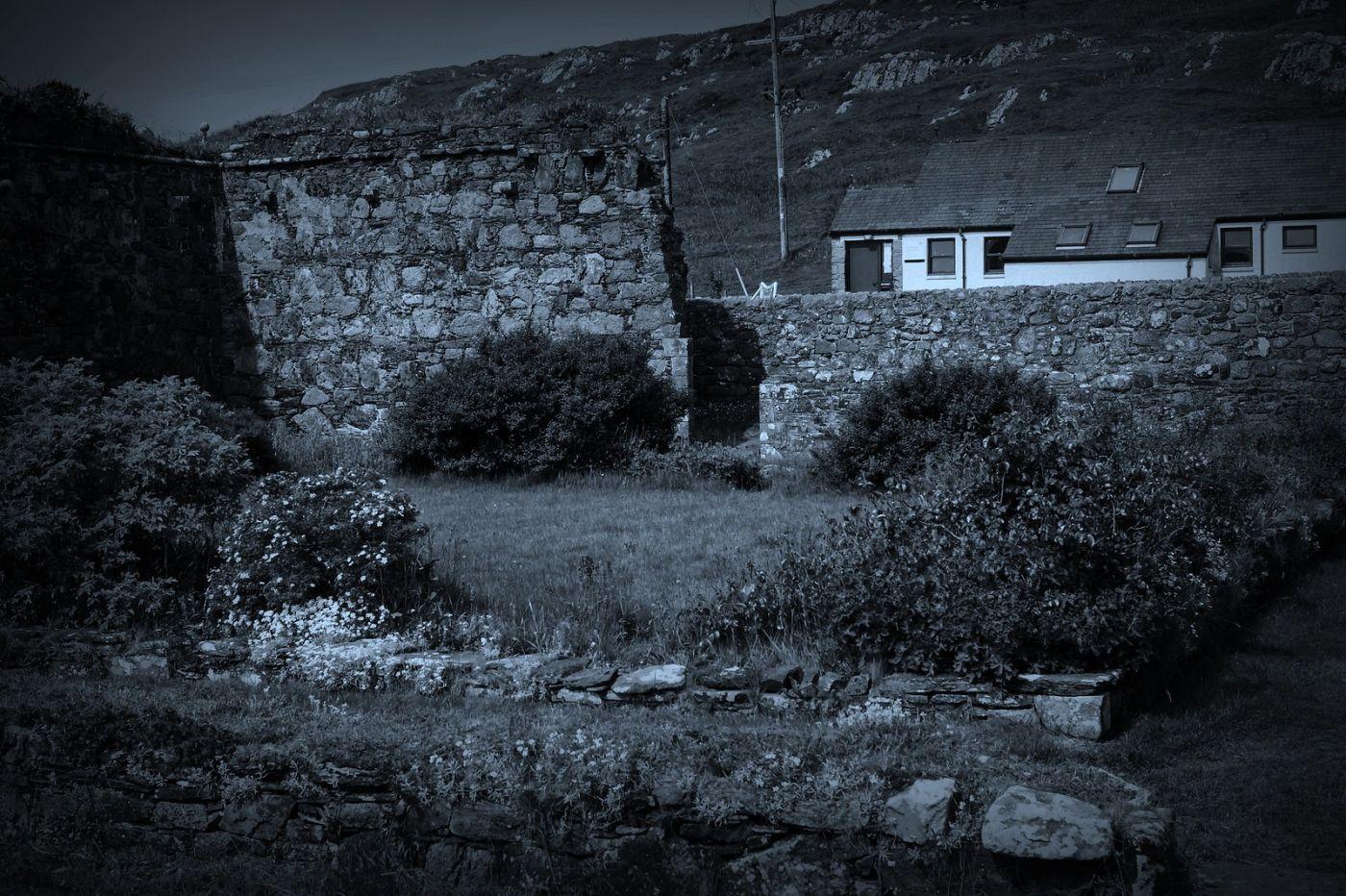 苏格兰圣奥兰教堂(St Oran's Chapel),千年古迹_图1-38