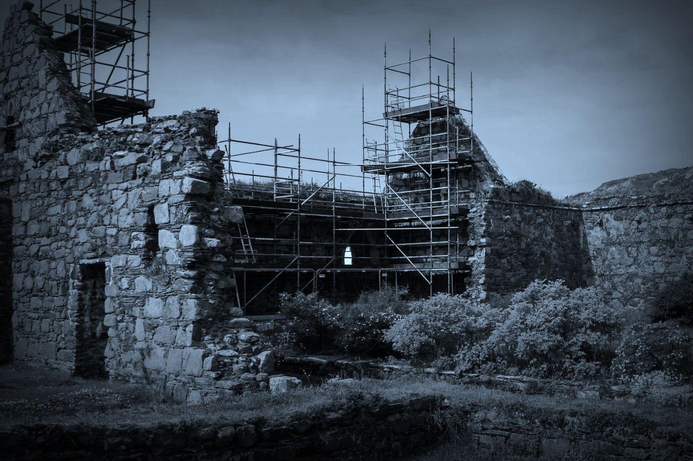 苏格兰圣奥兰教堂(St Oran's Chapel),千年古迹_图1-39