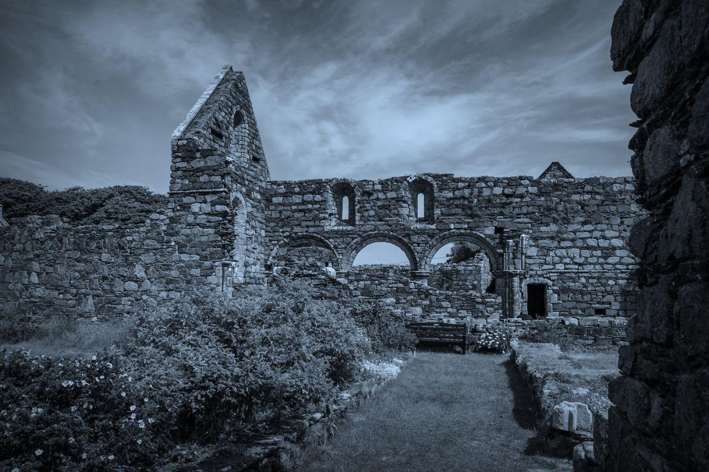 苏格兰圣奥兰教堂(St Oran's Chapel),千年古迹_图1-37