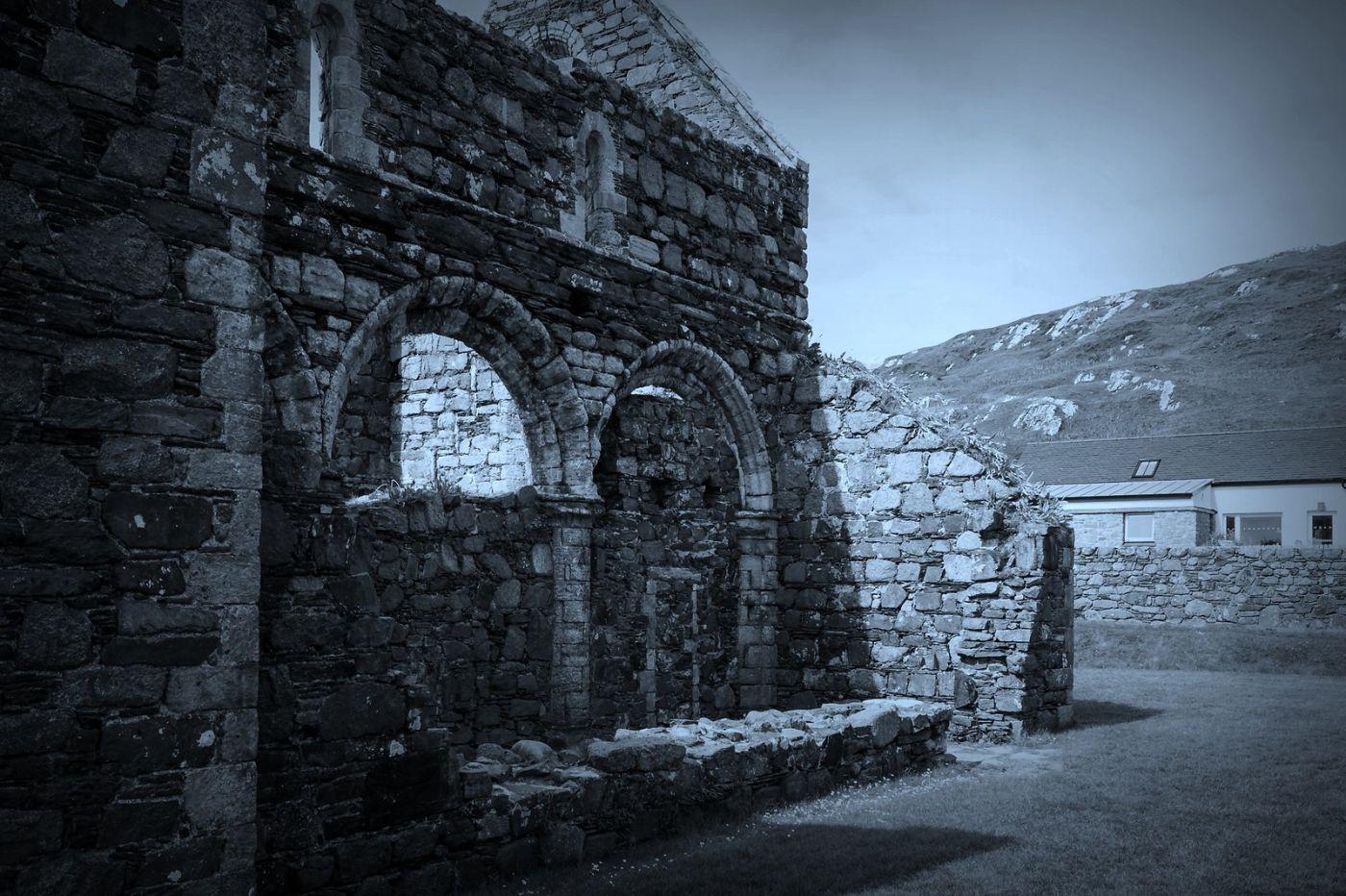 苏格兰圣奥兰教堂(St Oran's Chapel),千年古迹_图1-33