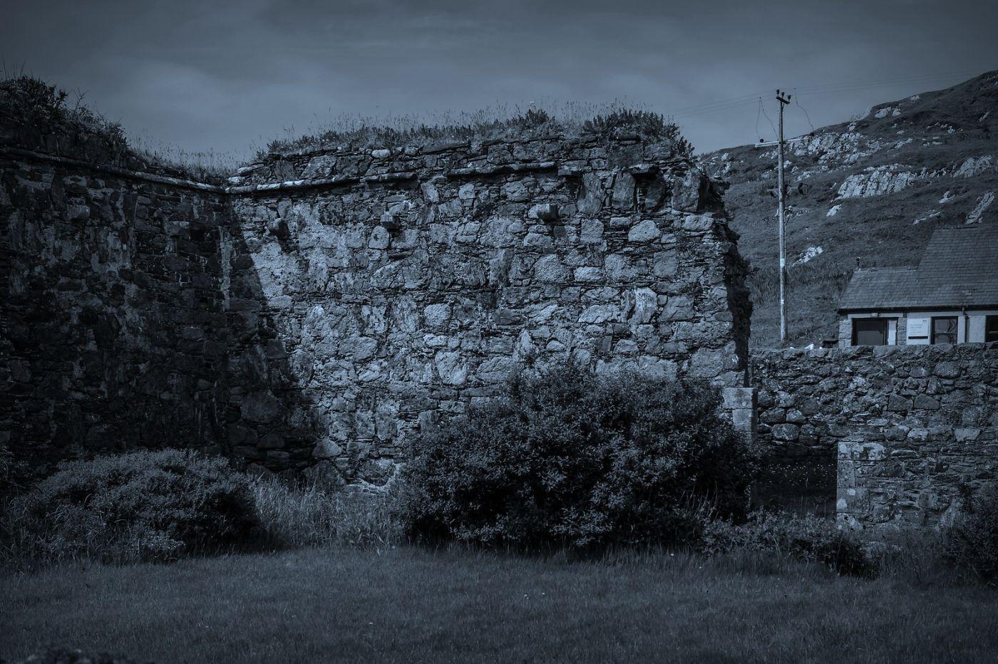 苏格兰圣奥兰教堂(St Oran's Chapel),千年古迹_图1-36