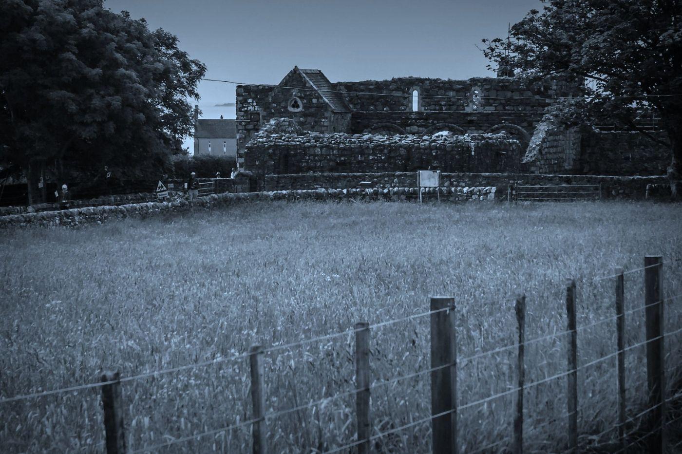 苏格兰圣奥兰教堂(St Oran's Chapel),千年古迹_图1-34