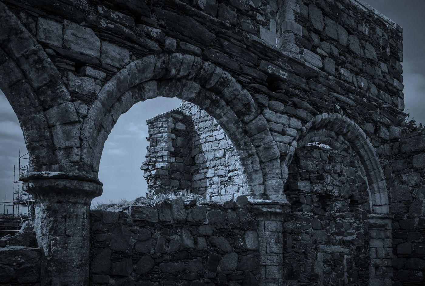 苏格兰圣奥兰教堂(St Oran's Chapel),千年古迹_图1-35