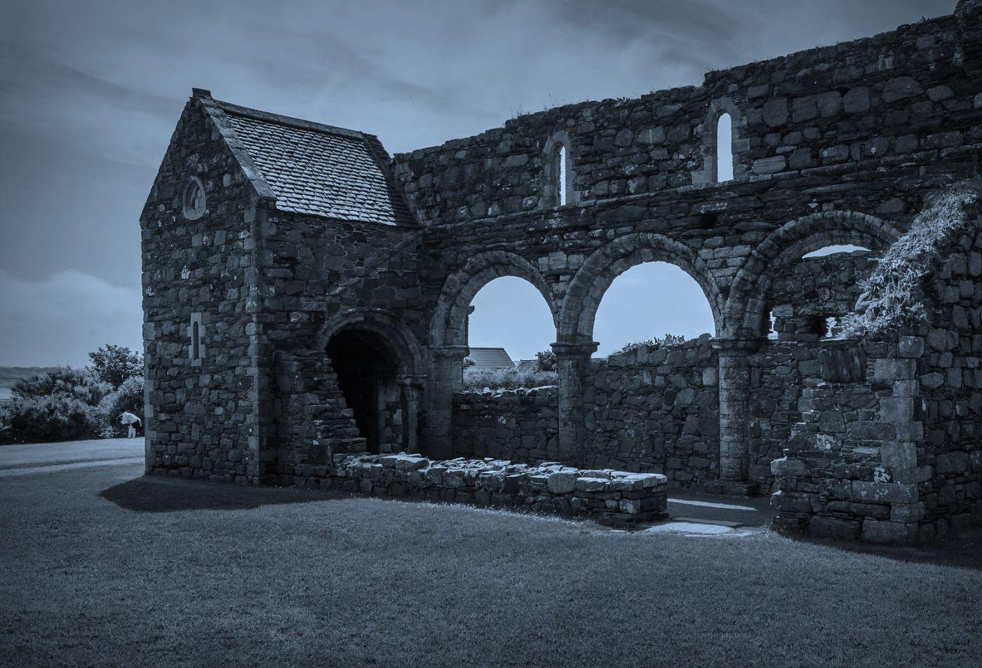 苏格兰圣奥兰教堂(St Oran's Chapel),千年古迹_图1-30