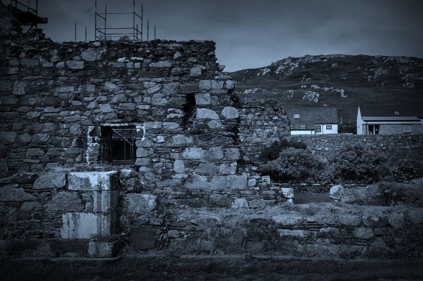 苏格兰圣奥兰教堂(St Oran's Chapel),千年古迹_图1-29