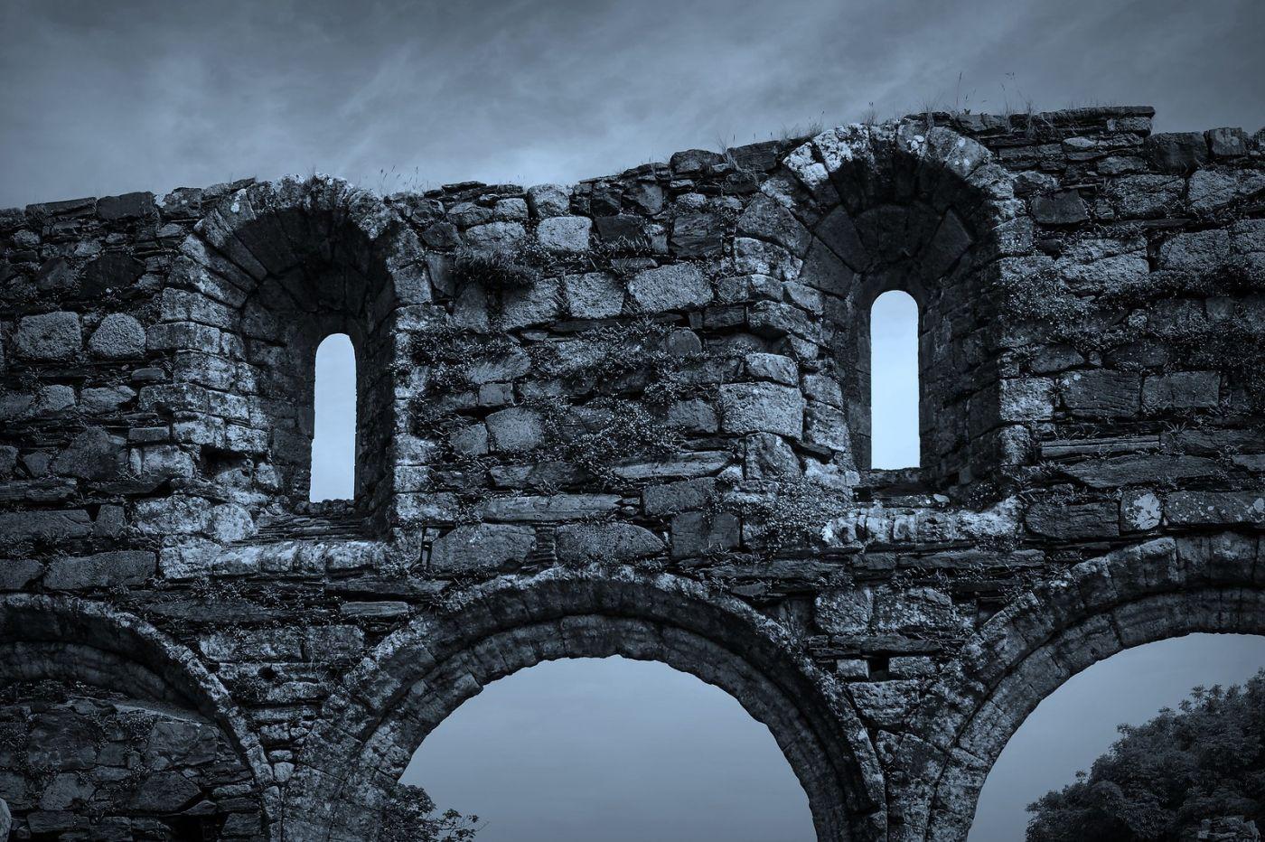 苏格兰圣奥兰教堂(St Oran's Chapel),千年古迹_图1-28