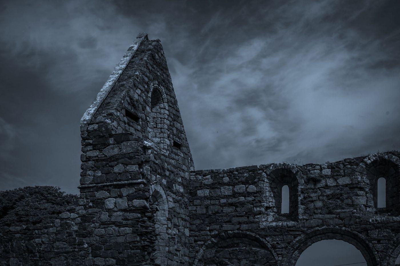 苏格兰圣奥兰教堂(St Oran's Chapel),千年古迹_图1-25