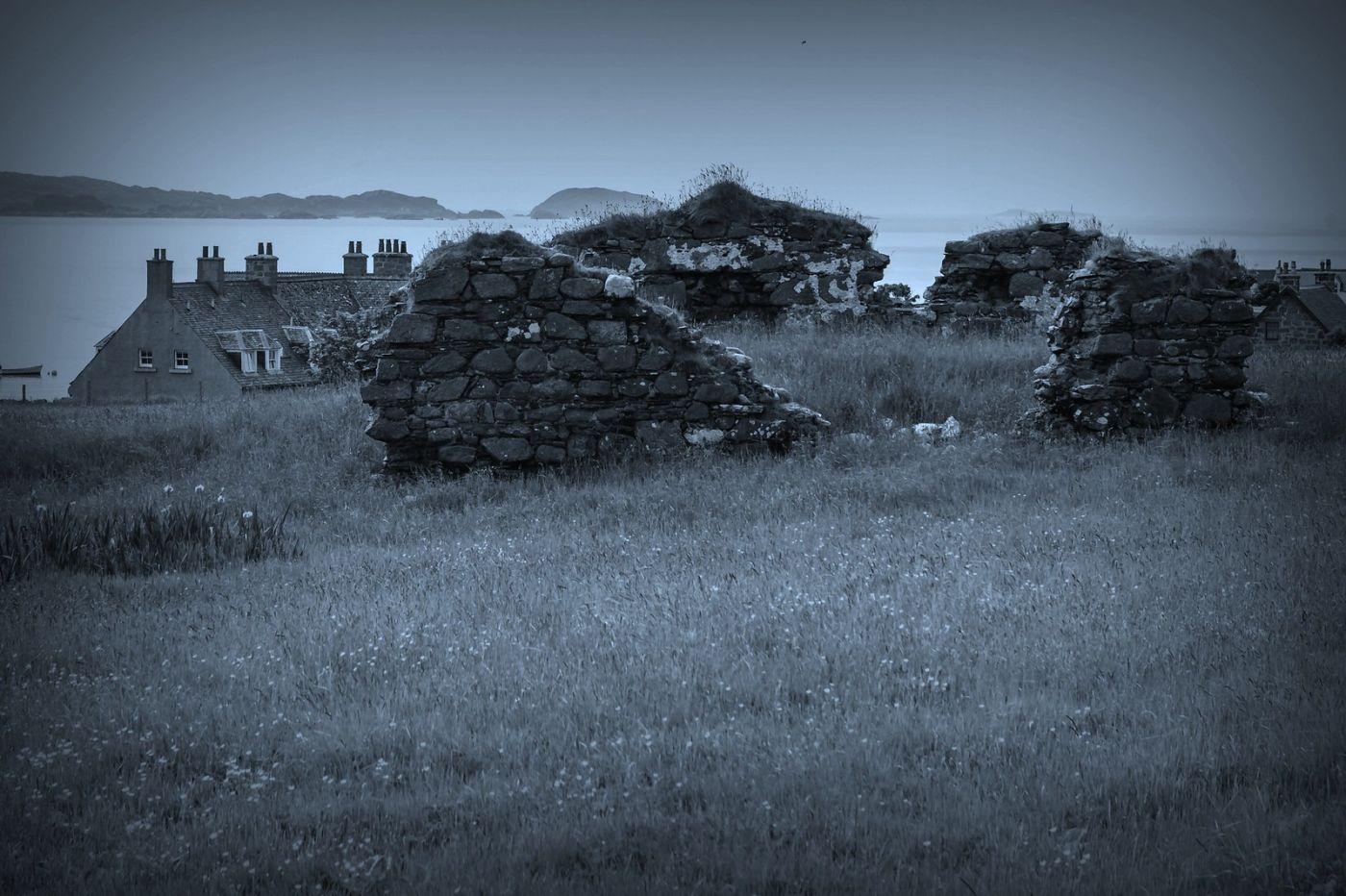 苏格兰圣奥兰教堂(St Oran's Chapel),千年古迹_图1-26