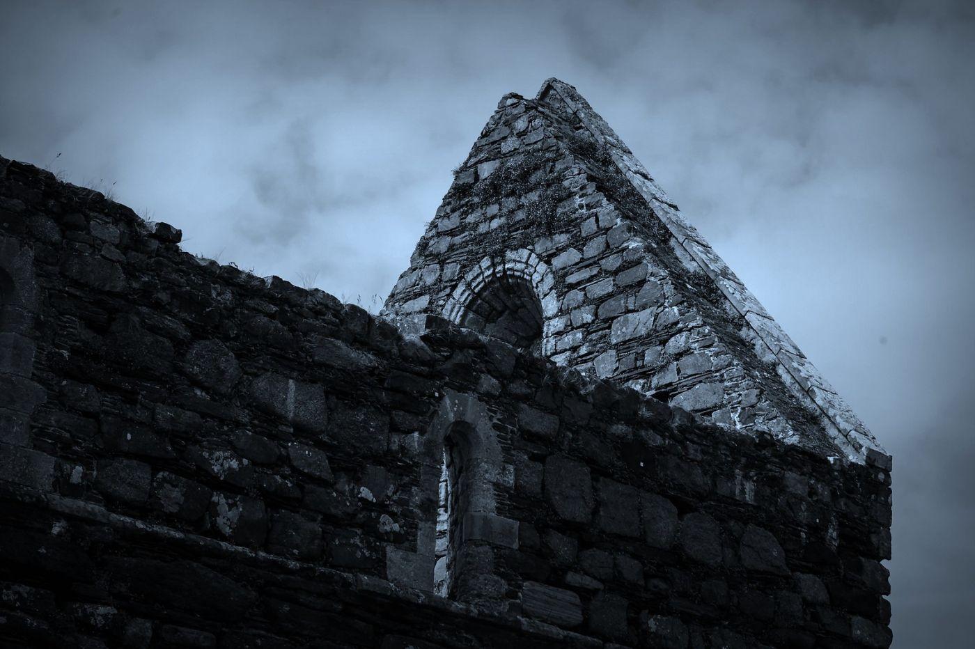 苏格兰圣奥兰教堂(St Oran's Chapel),千年古迹_图1-27