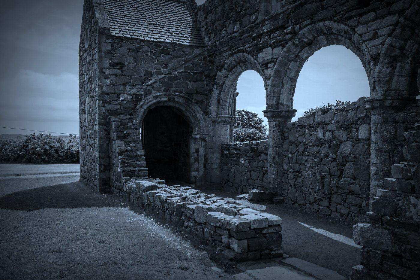 苏格兰圣奥兰教堂(St Oran's Chapel),千年古迹_图1-21