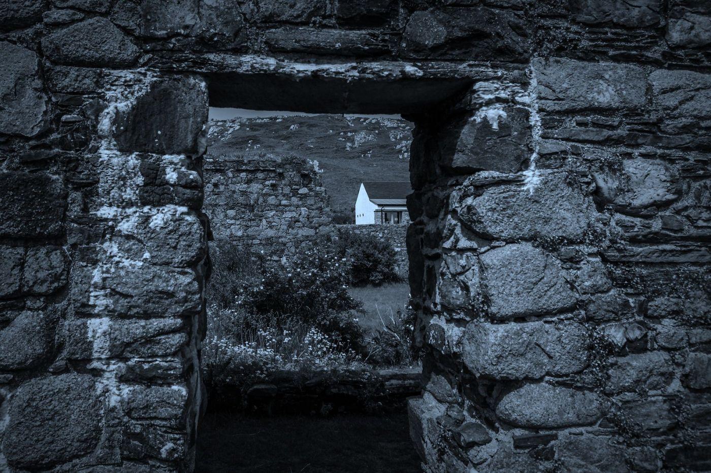 苏格兰圣奥兰教堂(St Oran's Chapel),千年古迹_图1-20