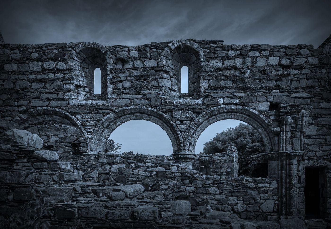 苏格兰圣奥兰教堂(St Oran's Chapel),千年古迹_图1-17