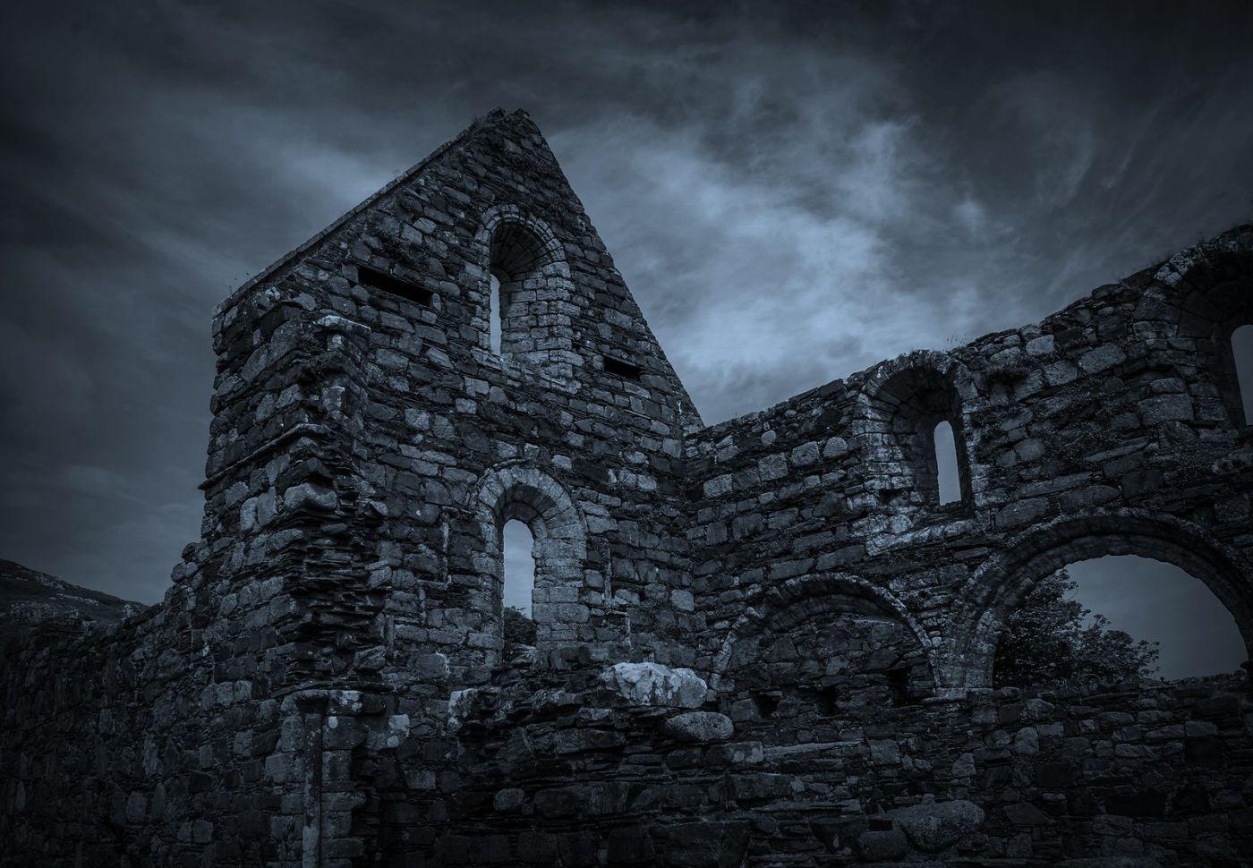 苏格兰圣奥兰教堂(St Oran's Chapel),千年古迹_图1-19