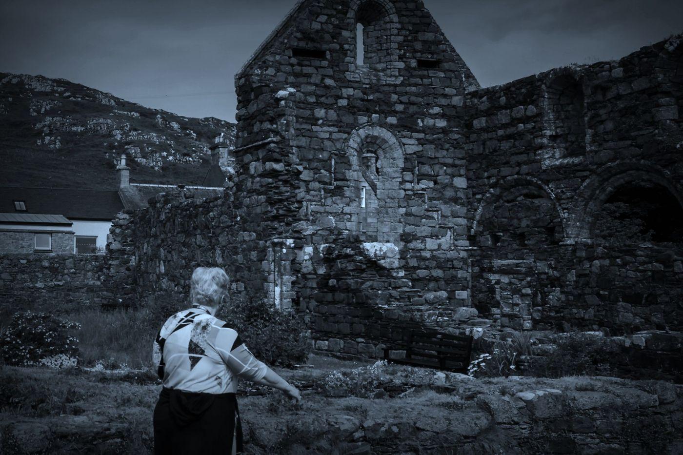 苏格兰圣奥兰教堂(St Oran's Chapel),千年古迹_图1-12