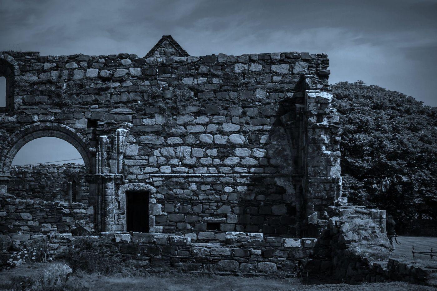 苏格兰圣奥兰教堂(St Oran's Chapel),千年古迹_图1-13