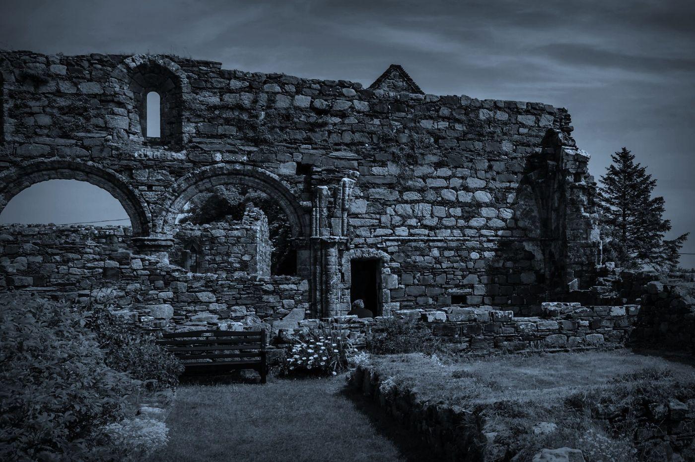 苏格兰圣奥兰教堂(St Oran's Chapel),千年古迹_图1-14