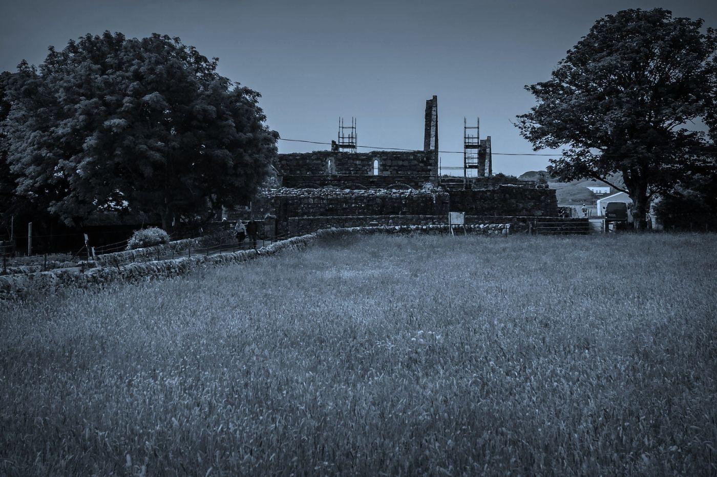 苏格兰圣奥兰教堂(St Oran's Chapel),千年古迹_图1-7