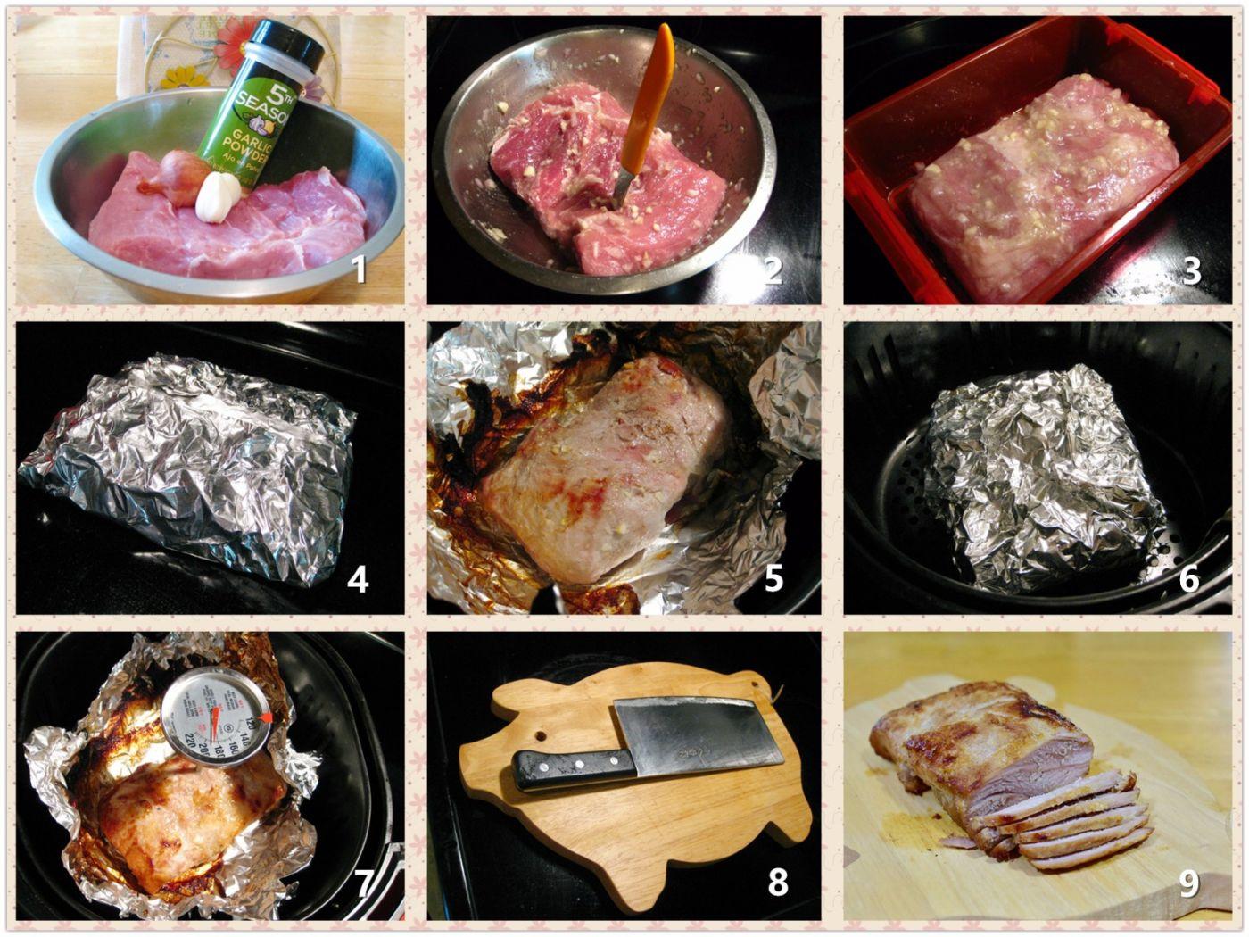 蒜香烤猪腰肉_图1-2