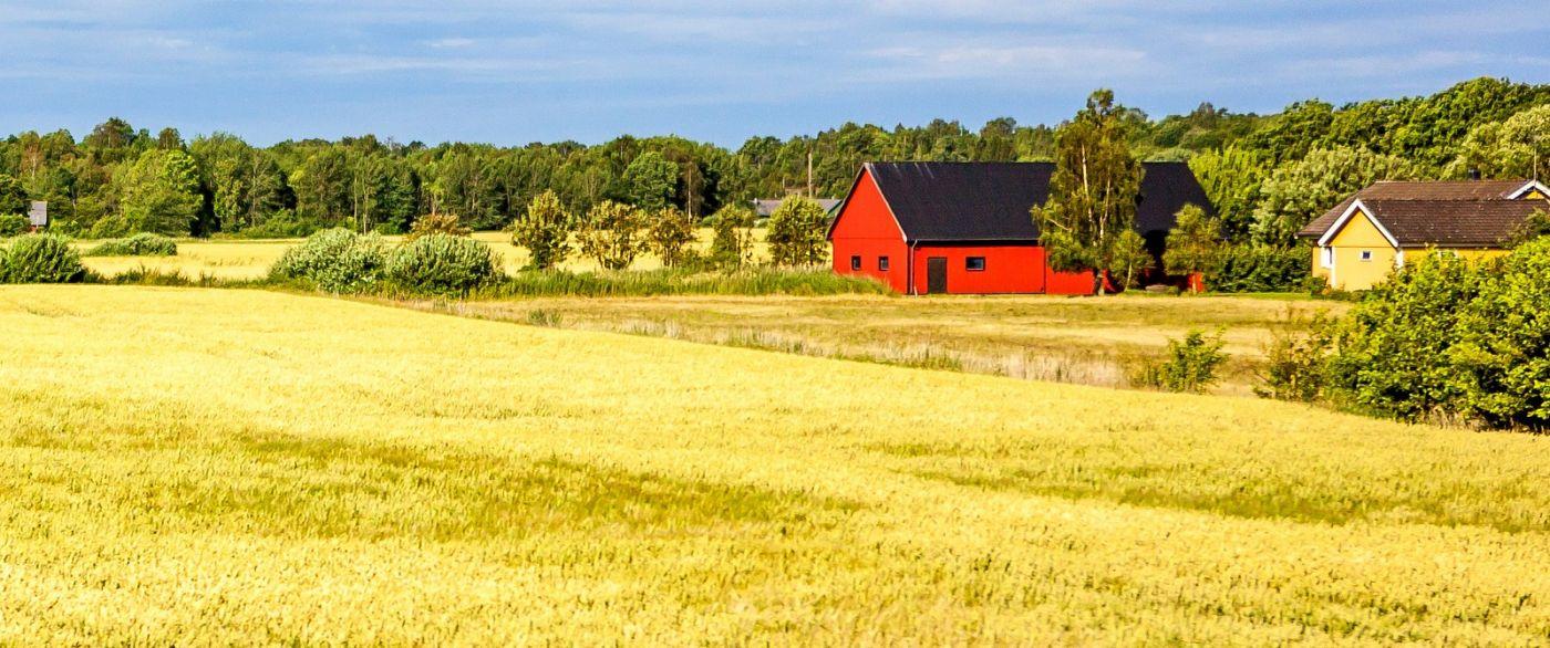 北欧旅途,漂亮的农室_图1-6