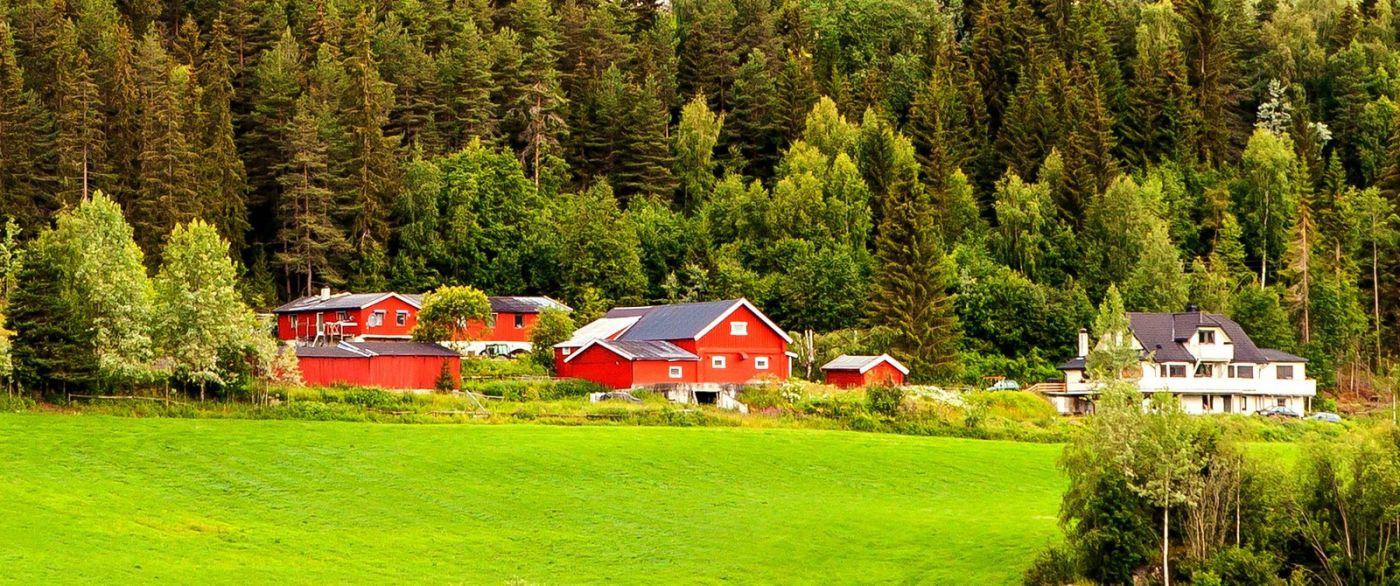 北欧旅途,漂亮的农室_图1-1