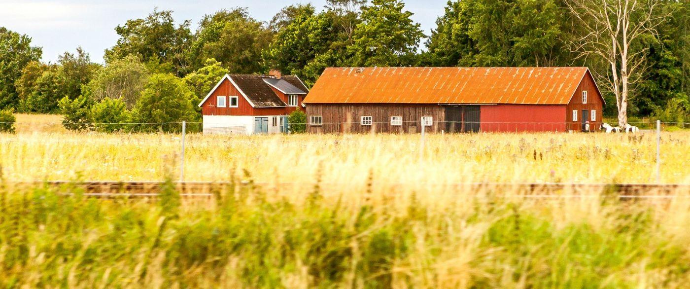 北欧旅途,漂亮的农室_图1-11