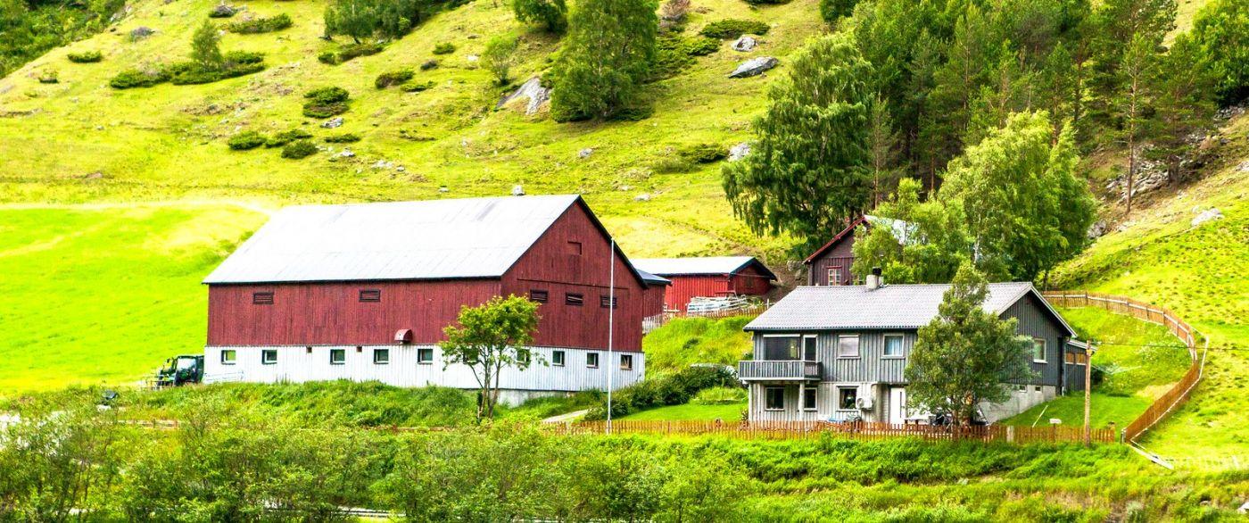 北欧旅途,漂亮的农室_图1-22
