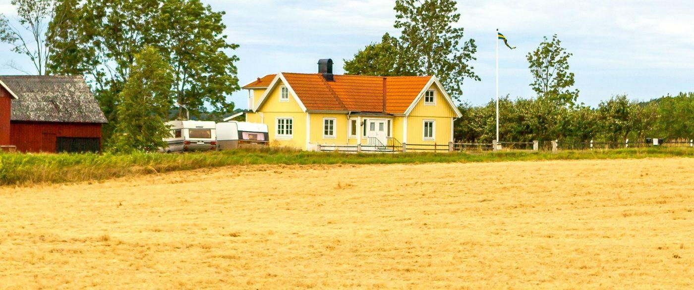 北欧旅途,漂亮的农室_图1-36