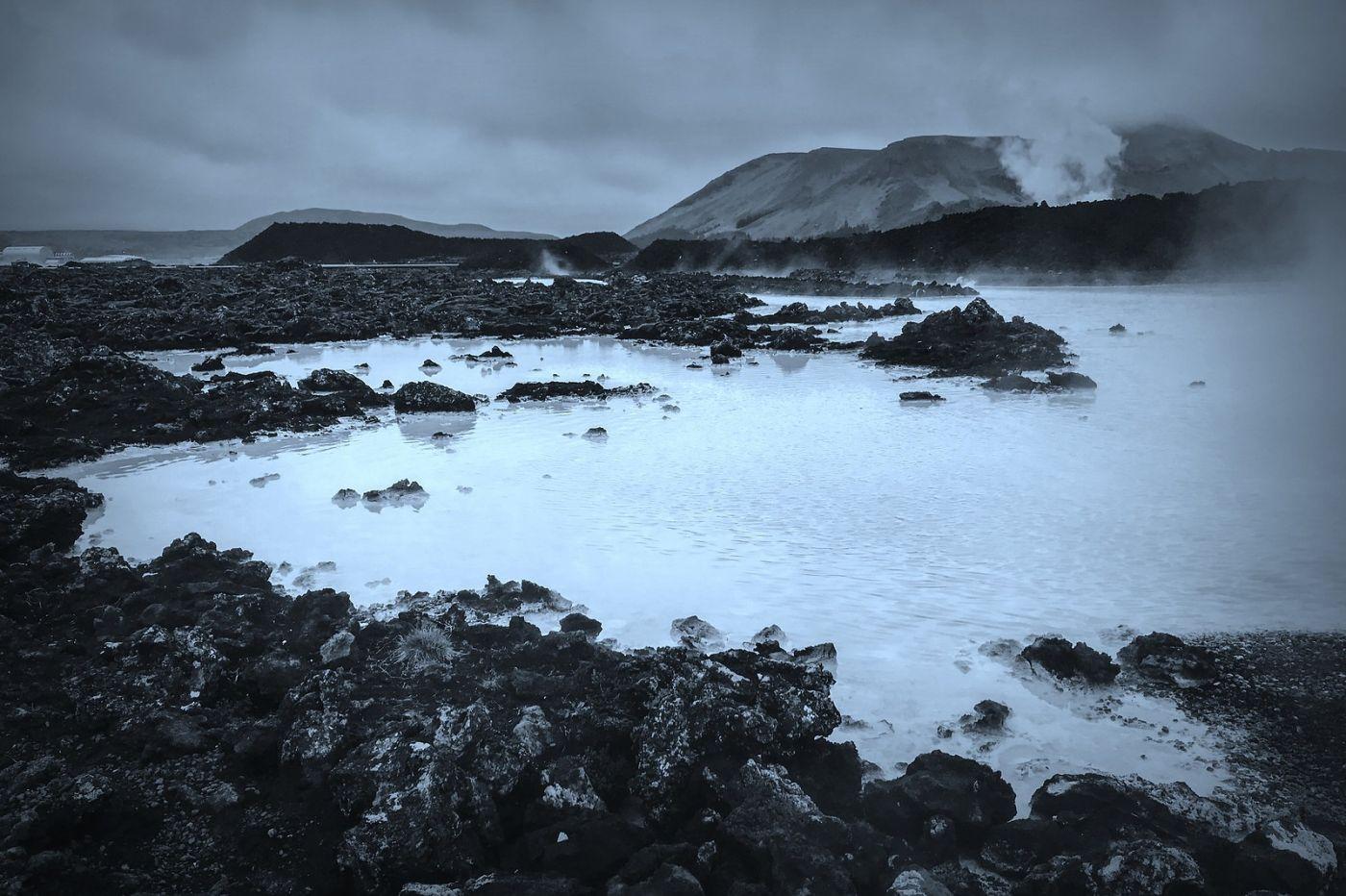 冰岛blue lagoon,火山旁的温泉浴_图1-33