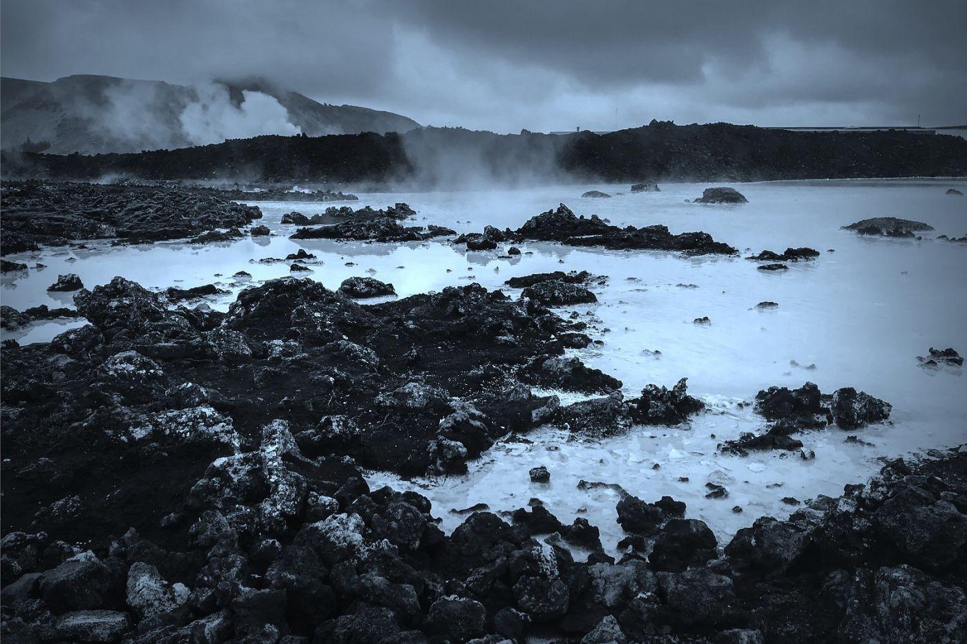 冰岛blue lagoon,火山旁的温泉浴_图1-25