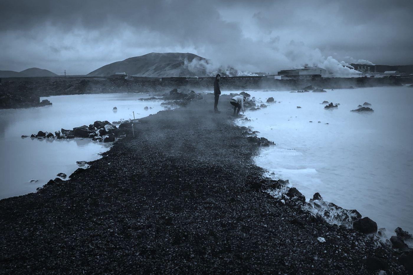 冰岛blue lagoon,火山旁的温泉浴_图1-26