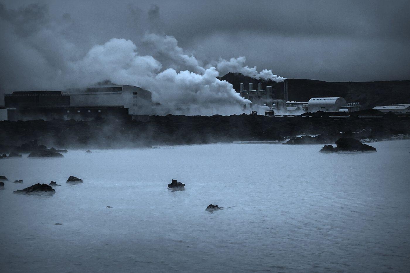 冰岛blue lagoon,火山旁的温泉浴_图1-24