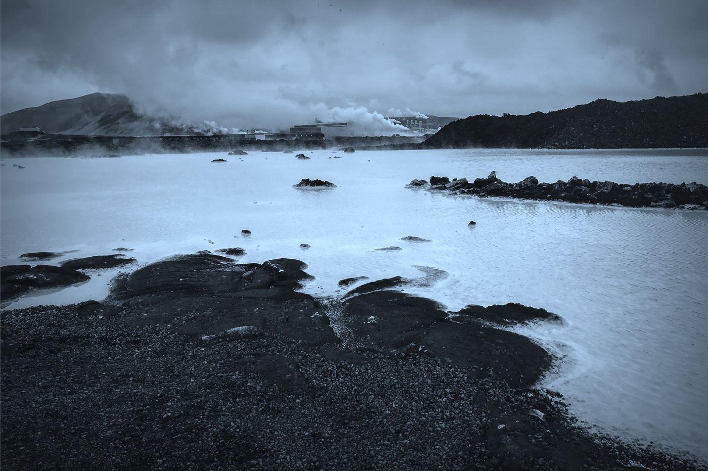 冰岛blue lagoon,火山旁的温泉浴_图1-19