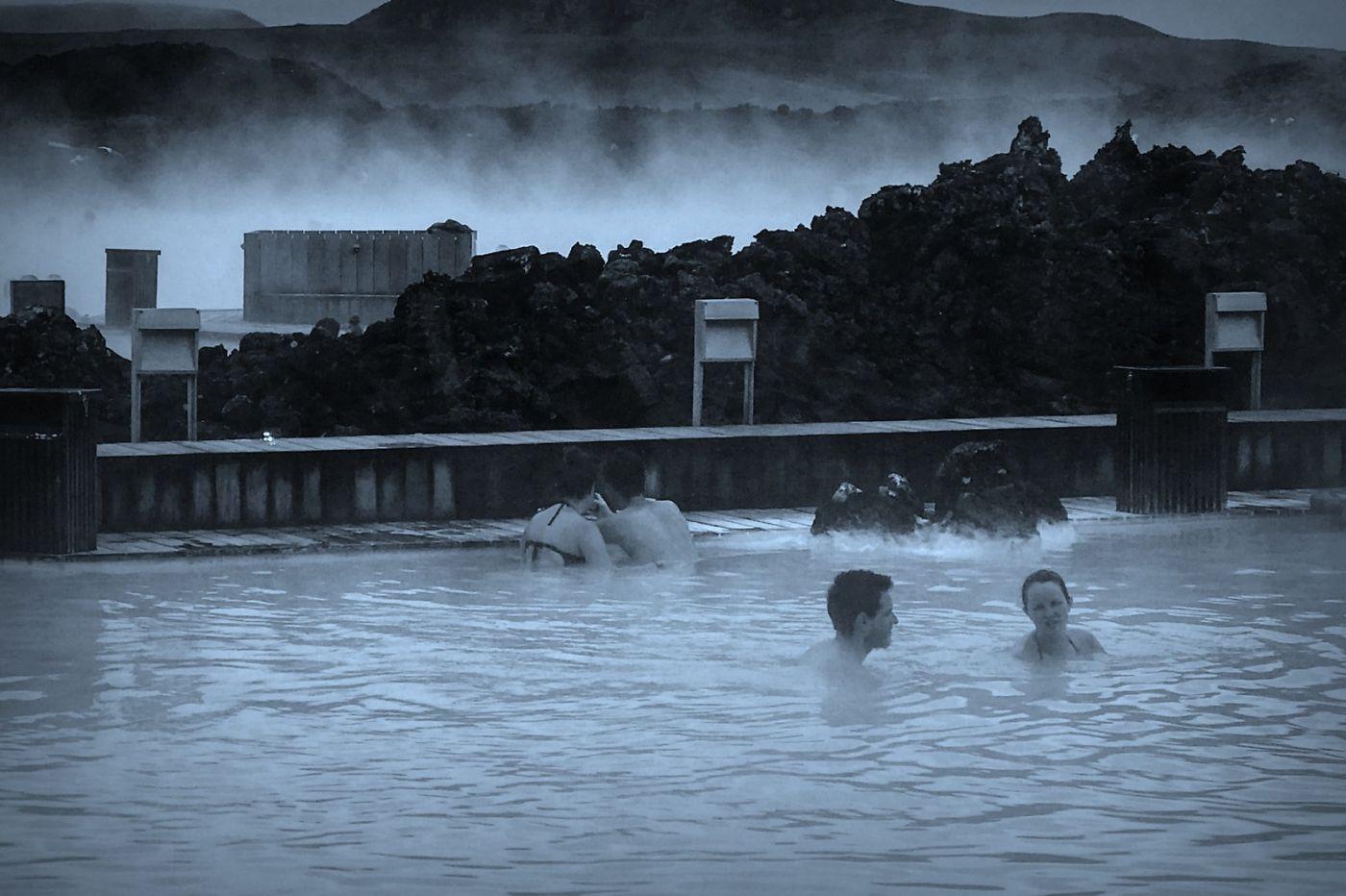 冰岛blue lagoon,火山旁的温泉浴_图1-17
