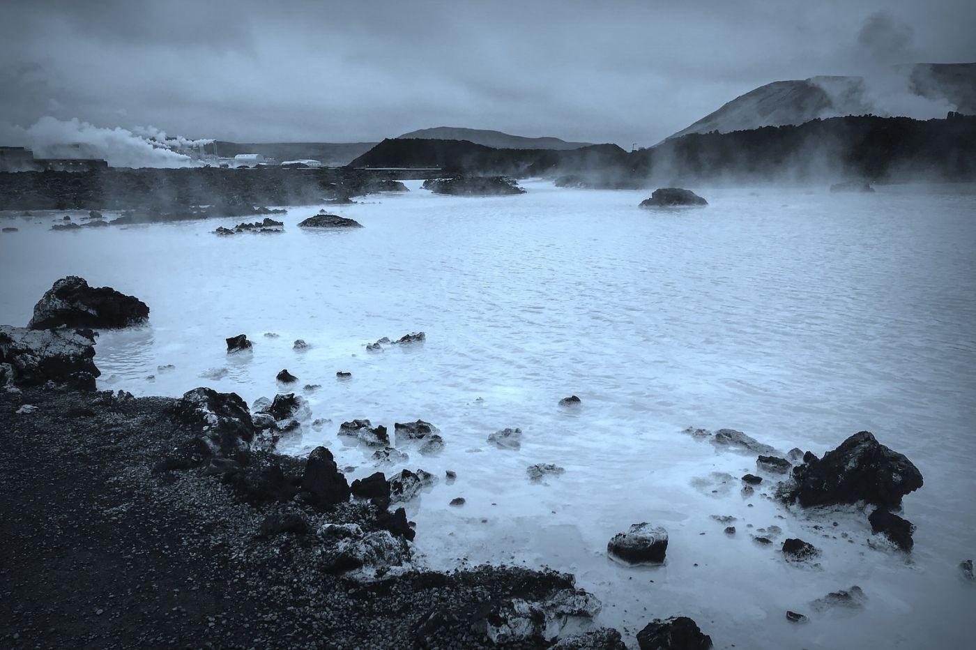 冰岛blue lagoon,火山旁的温泉浴_图1-4