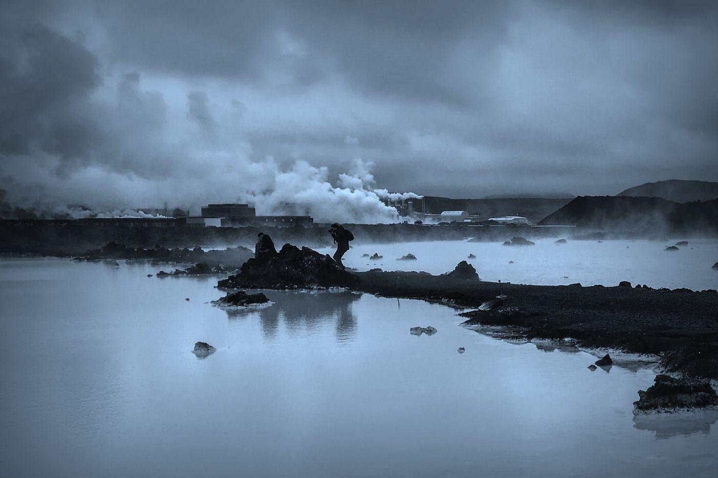 冰岛blue lagoon,火山旁的温泉浴_图1-3