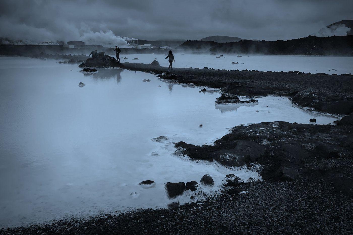 冰岛blue lagoon,火山旁的温泉浴_图1-5