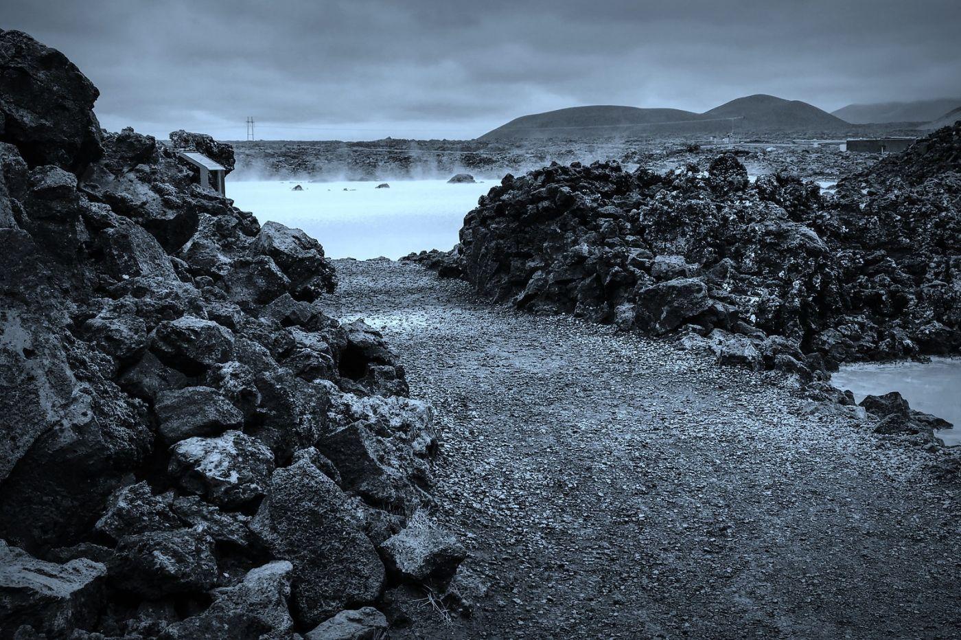 冰岛blue lagoon,火山旁的温泉浴_图1-13