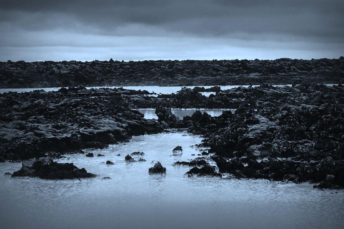 冰岛blue lagoon,火山旁的温泉浴_图1-14