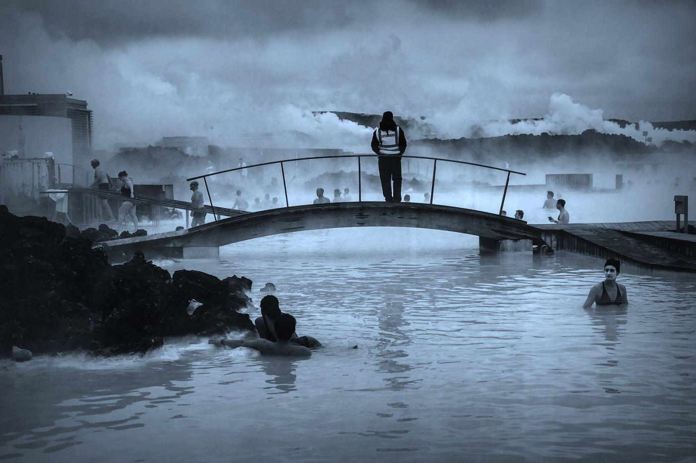 冰岛blue lagoon,火山旁的温泉浴_图1-15