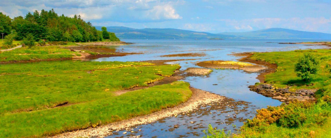 苏格兰美景,月牙般的海湾_图1-1