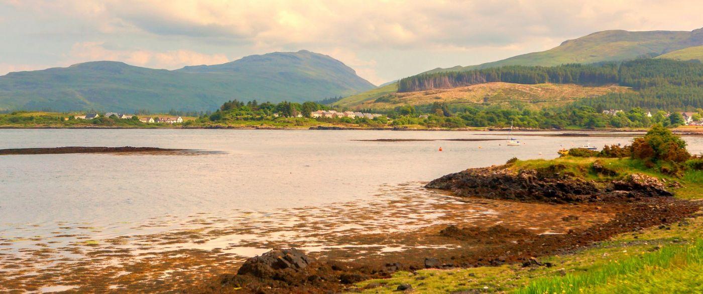 苏格兰美景,月牙般的海湾_图1-4