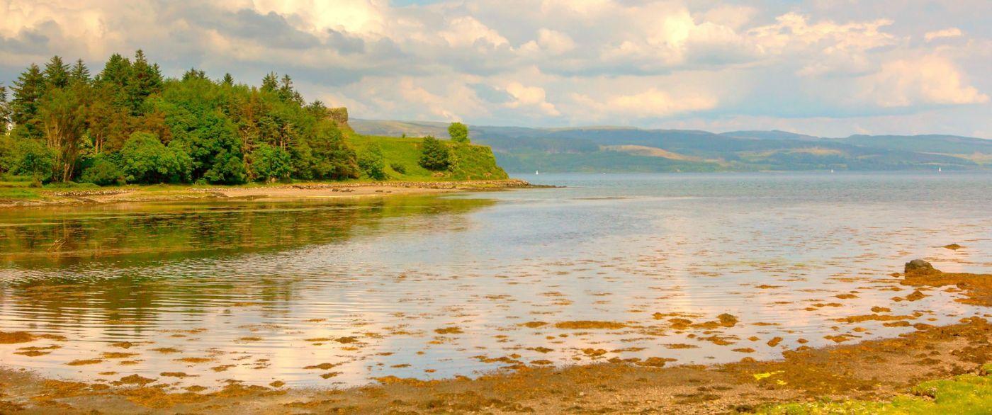 苏格兰美景,月牙般的海湾_图1-6