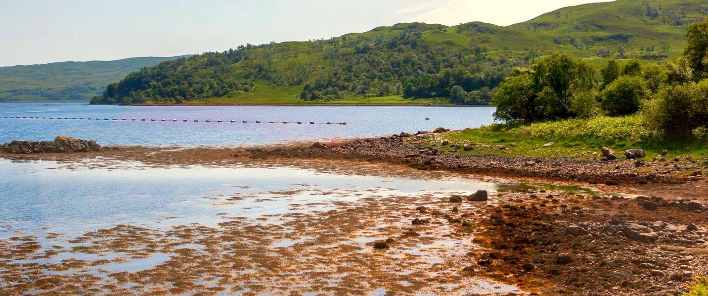 苏格兰美景,月牙般的海湾_图1-7