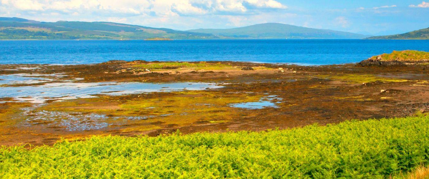 苏格兰美景,月牙般的海湾_图1-12